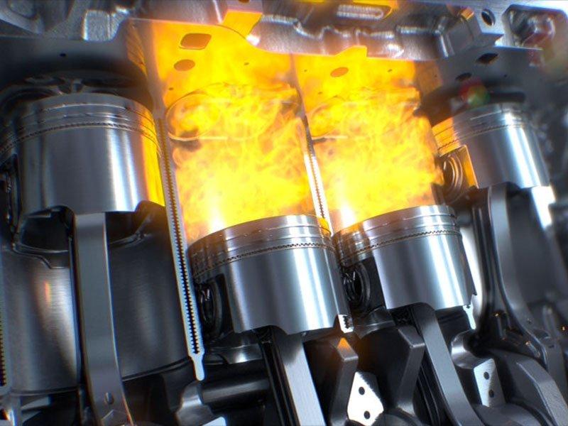 proceso de descarbonizar motor diésel