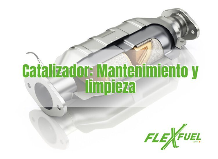 Catalizador mantenimiento y limpieza en talleres Flexfuel
