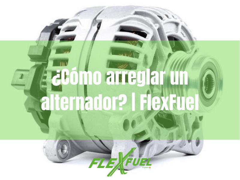 Los problemas mecánicos del alternador · Flexfuel