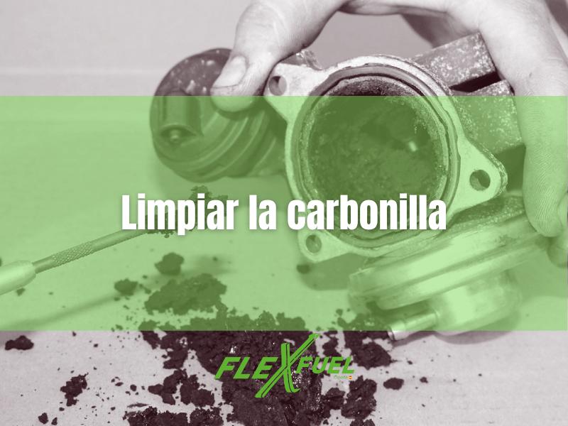 LIMPIAR CARBONILLA